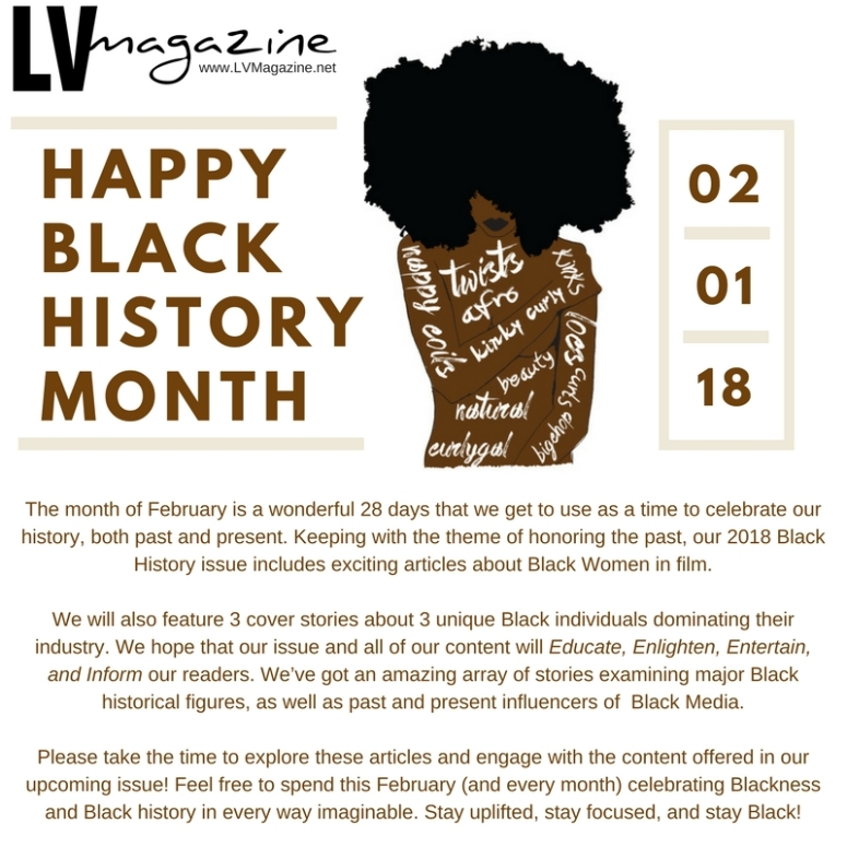 Black History Month Flyer 2018