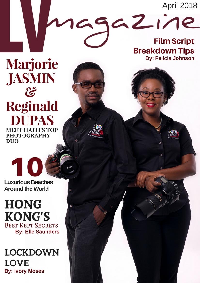 LV Magazine Cover - April 2018