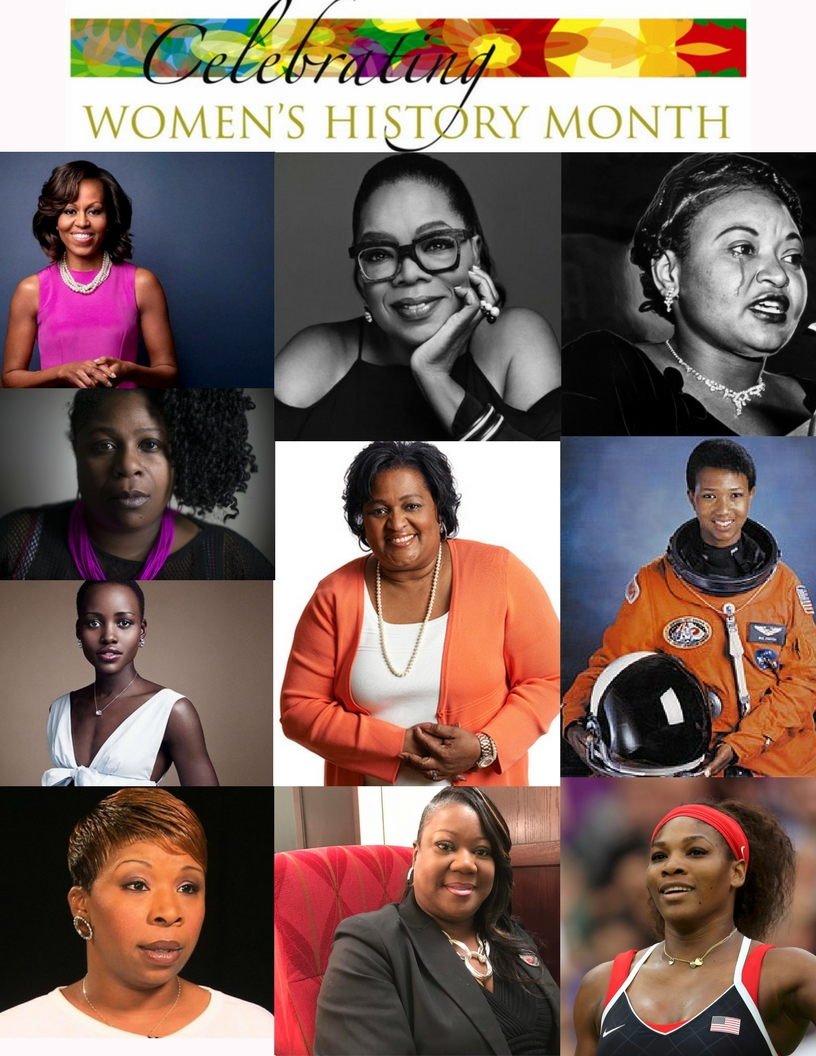 Women's History Month is an annual declared month that highlights the contributions of women to events in history and contemporary society. (3) (1)